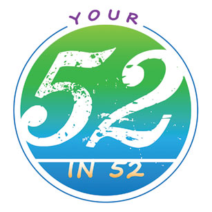 Your 52 in 52 program by Ellen Jenny Watkins (logo)